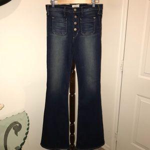 McGuire flare leg jeans